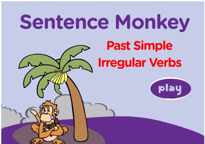 Resultado de imagen de past simple irregular verbs games