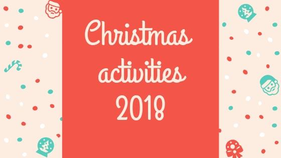Christmas lesson 2018
